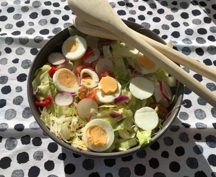 Sla a la Ootje, een eenvoudige en super lekkere salade