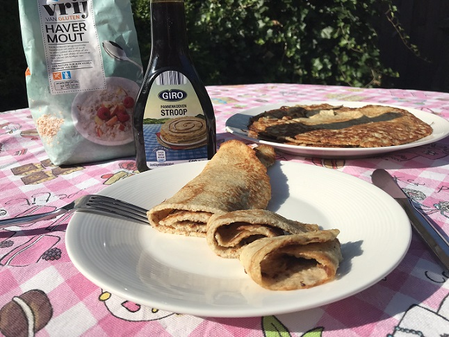 Havermout pannenkoeken, makkelijk, snel en glutenvrij