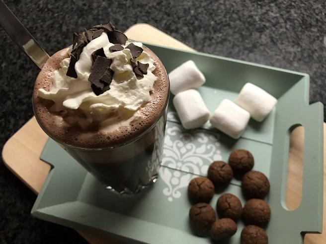 Warme chocolademelk, gewoon gluten- en lactosevrij