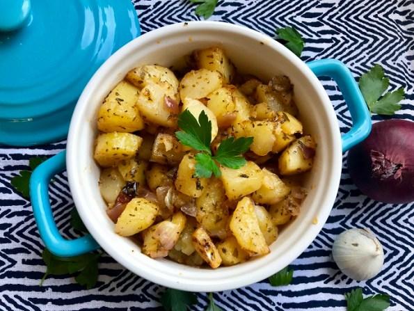 cajun aardappeltjes