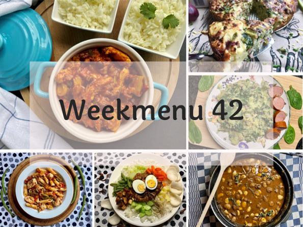 Glutenvrij weekmenu 2020-42