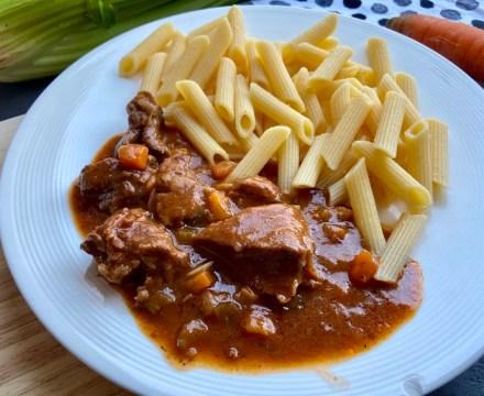 Italiaans stoofvlees uit de slowcooker
