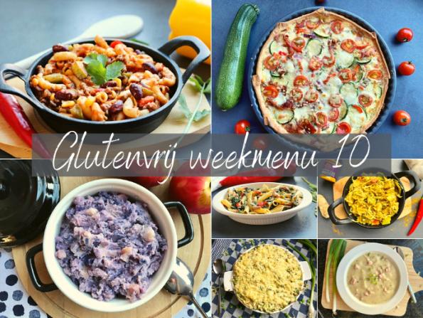 Glutenvrij weekmenu 2021-10