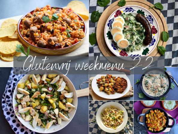 glutenvrij weekmenu 2021-22
