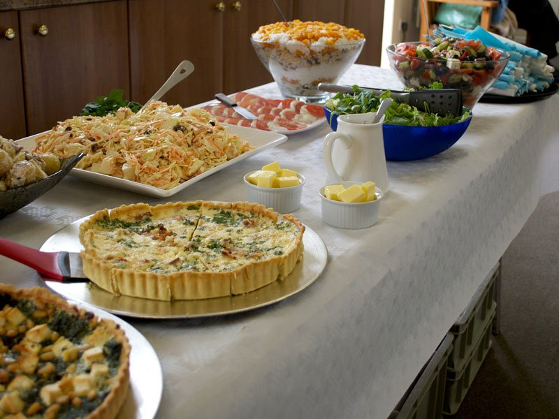 Hot & Cold Buffets, Bowl Food, Finger