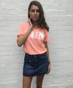 Sun cotton Tee Shirt