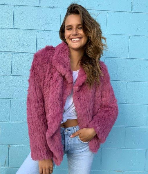 weekend fur jacket