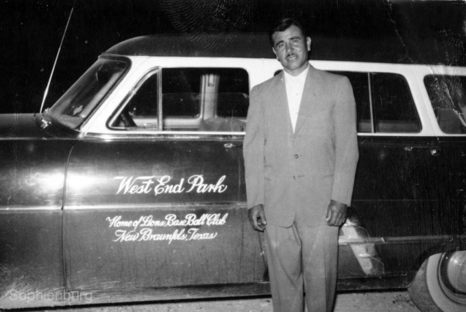 Felipe Delgado, creator of West End Baseball Park and West End Hall in New Braunfels.