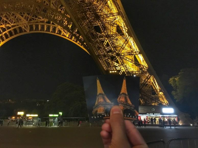 Parigi, Tour Eiffel by night