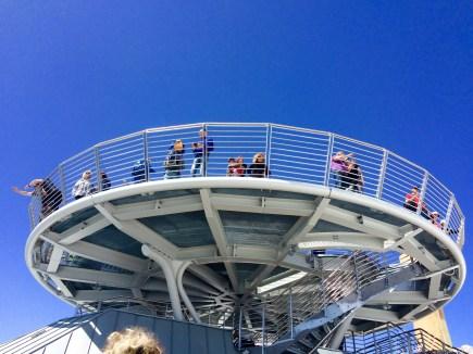 Punta Helbronner. Terrazza panoramica