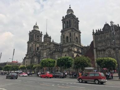 CDMX. Cattedrale di S. Maria Assunta