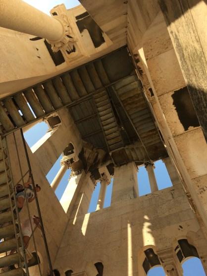 Il campanile del palazzo di Diocleziano, Spalato