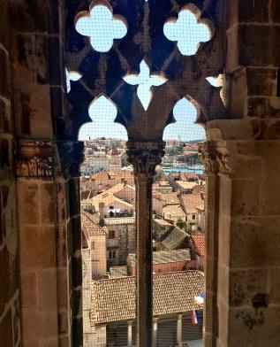 Trogir. Il campanile della cattedrale