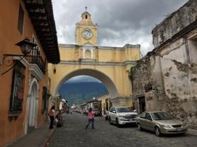 Antigua. Arco di Santa Catalina