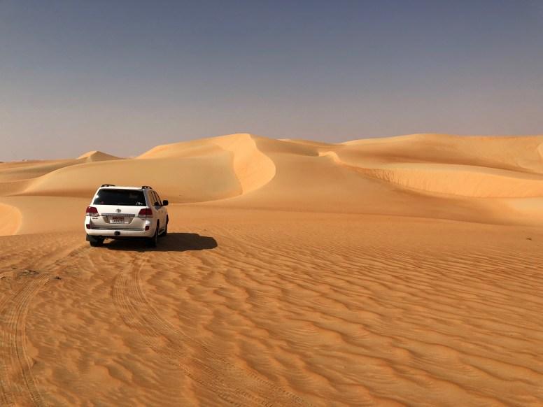 Abu Dhabi, deserto di Liwa