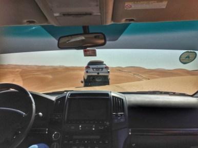 Abu Dhabi, il dune bashing