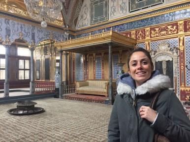 Istanbul, interno del palazzo Topkapi
