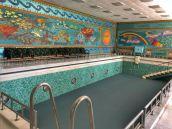 Bucarest, Palazzo Primaverii, piscina
