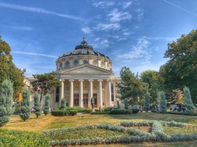 Bucarest, Ateneo romeno