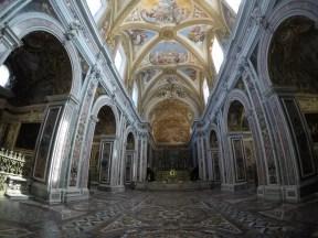 La chiesa all'interno della Certosa