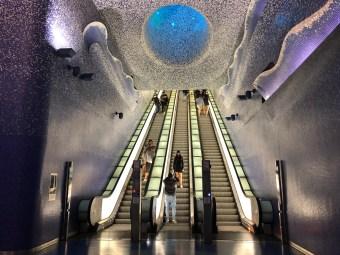 Stazione della metropolitana Toledo