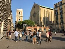 Nel centro storico di Napoli