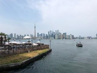 Toronto, la vista dalla Centre Island