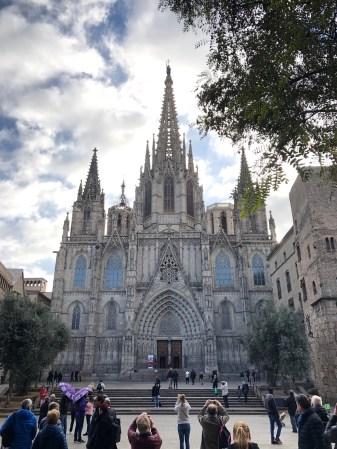 Barcelona, la cattedrale nel Barrio Gotico
