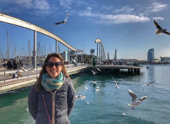 Barcelona, Rambla del Mar