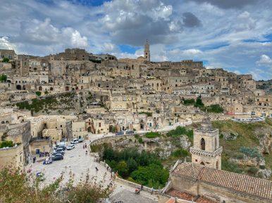 Matera, vista della Civita