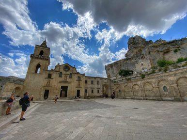 Matera, piazza Caveoso