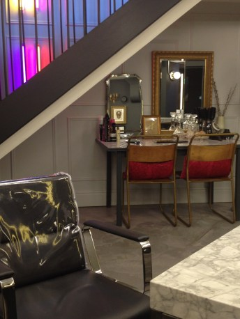 Dressing Room style Beauty counter with a range of treatments & ESSIE nails available