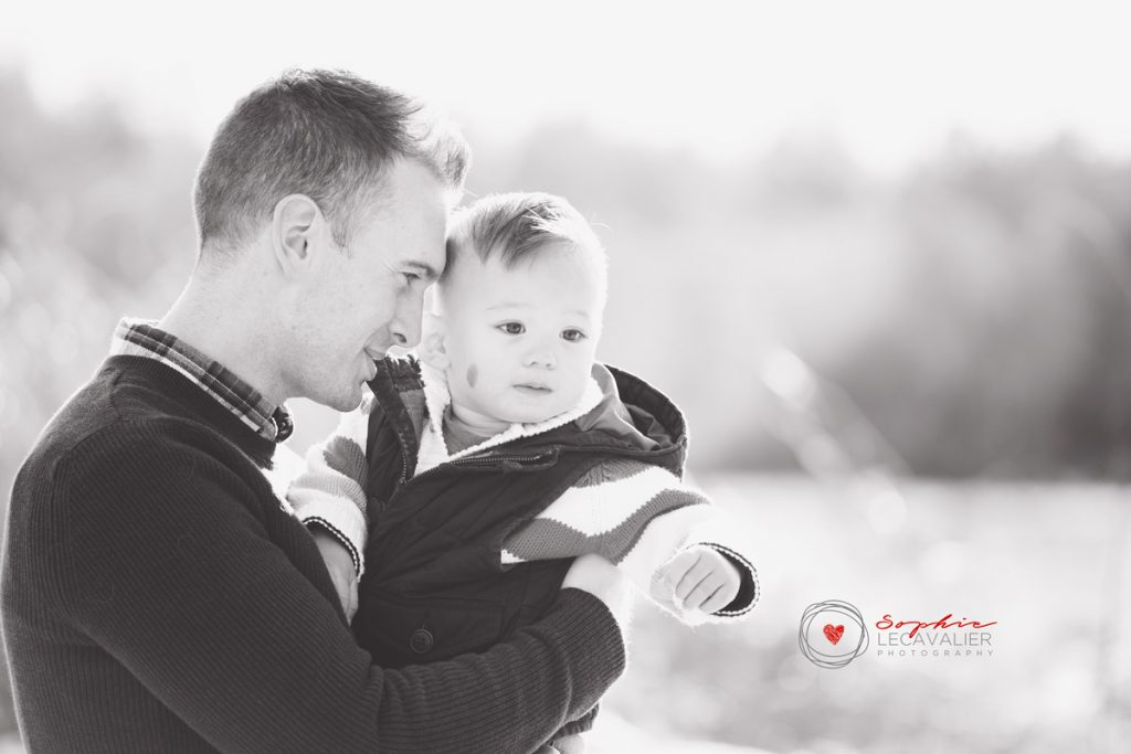 family photo sessions in Victoria BC father & son