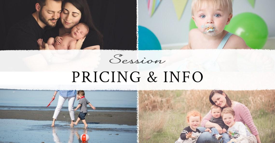 princing & info family photo shoot