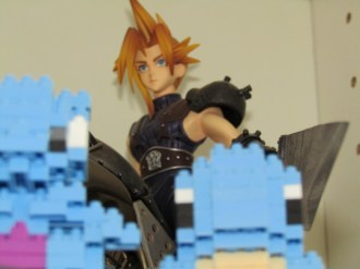 Cloud figure, (Not Nintendo but too amazing to leave out)