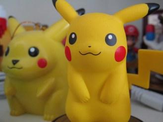 90's Pikachu with Amiibo Pikachu
