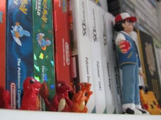 A few of Pokemon's many games.