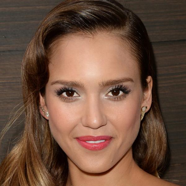 Jessica Alba Asymmetrical Earrings