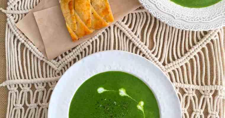 酸奶油菠菜濃湯 Sour Cream Spinach Soup- 脂肪含量43%