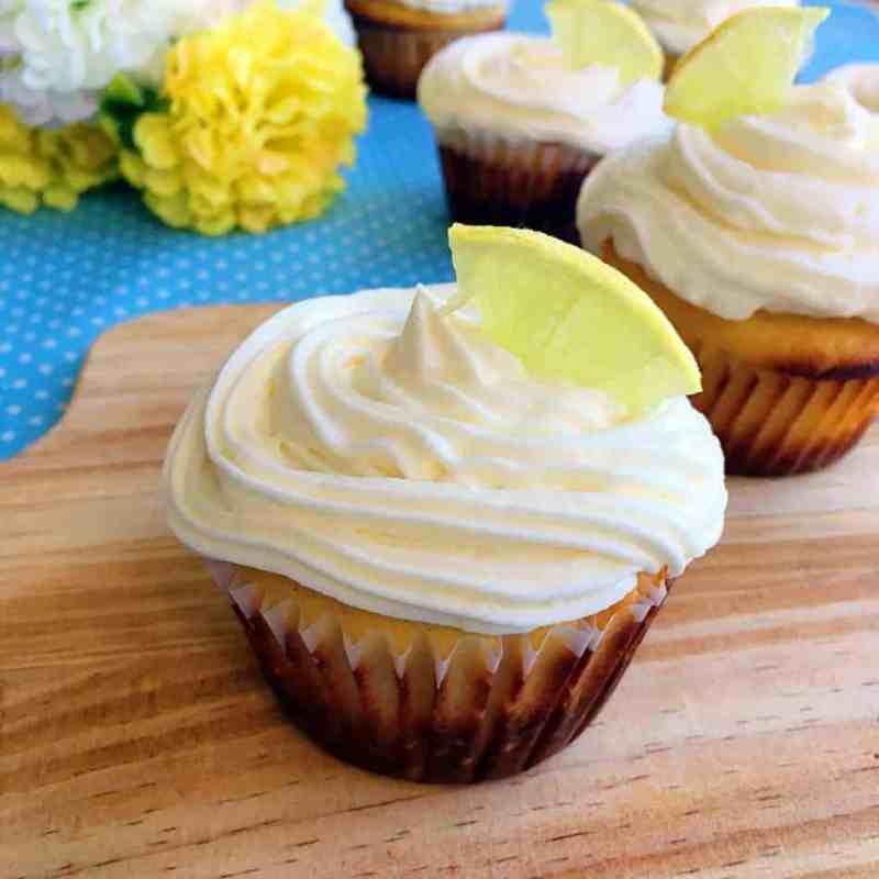 [生酮甜點] 檸檬杯子蛋糕 Keto Lemon Cupcakes -無糖無麩質