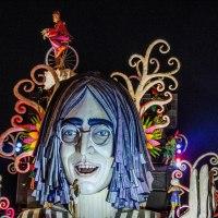 Summer festival in Viareggio