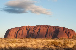 Ayres Rock at Sunset