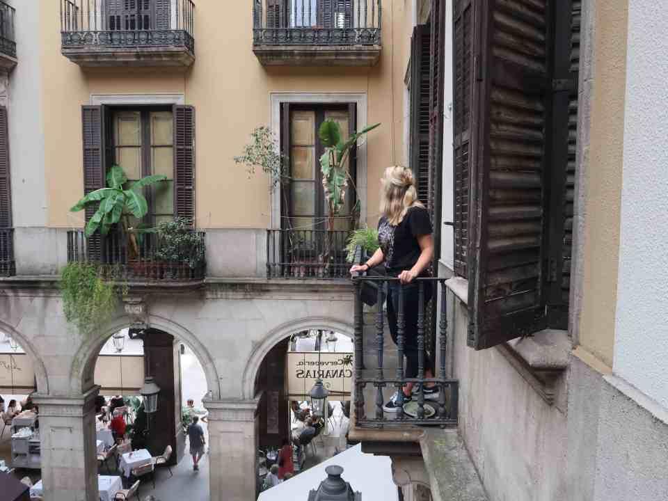 Barcelona La Rambla Gothic Quarter Princess Cruise