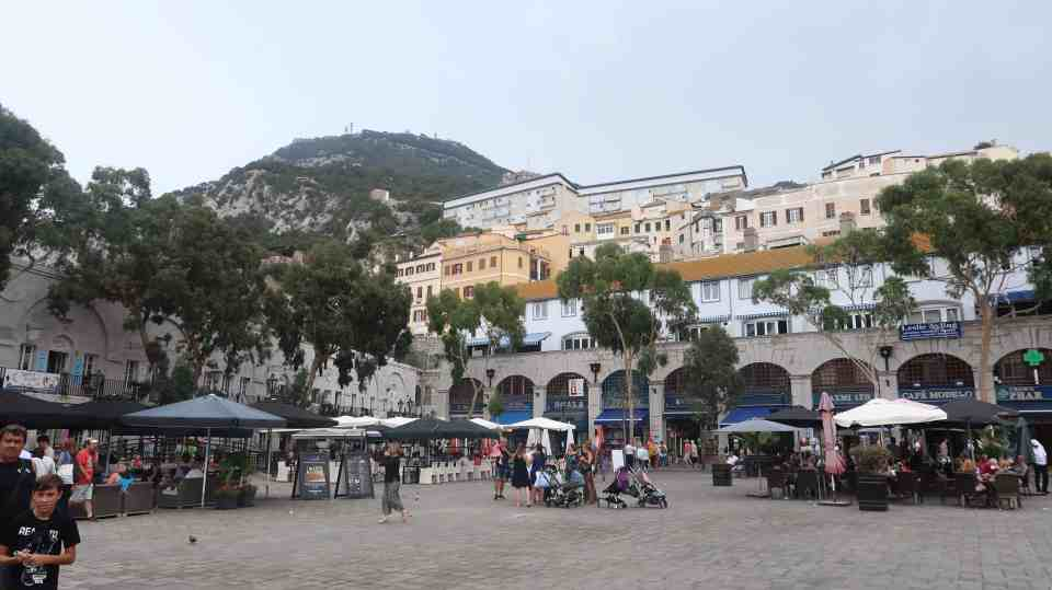 Gibraltar Europe Princess Cruise
