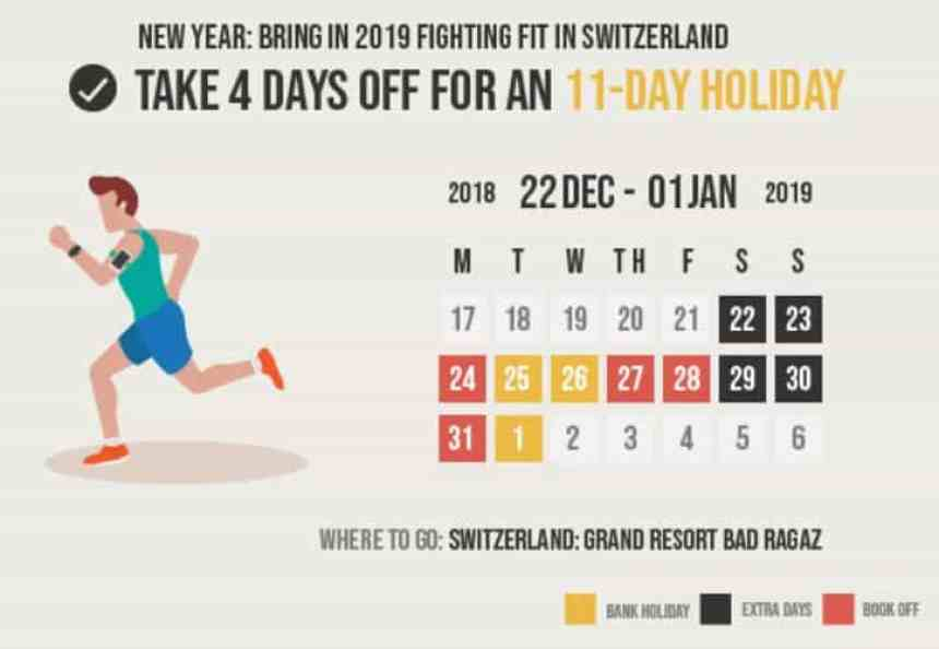 maximise your annual leave in 2019