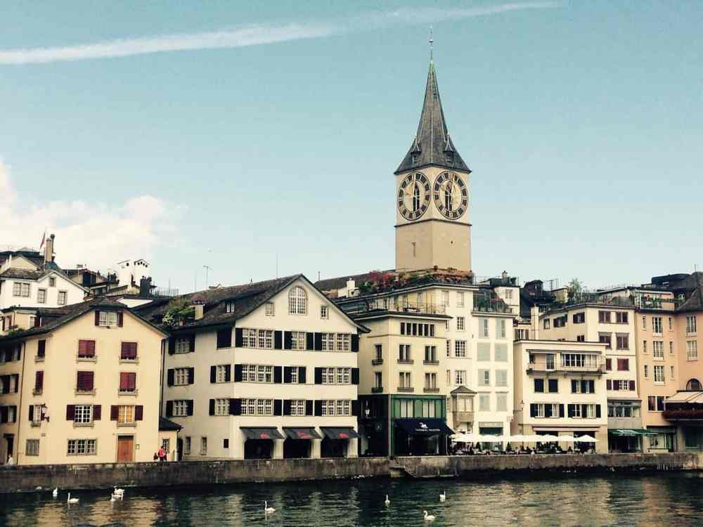 places to visit in Zurich