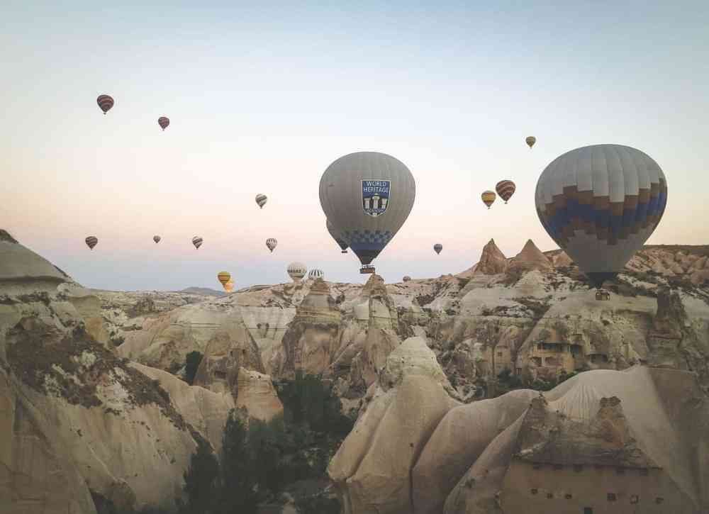Hot Air Balloon Cappadocia Turkey Itinerary