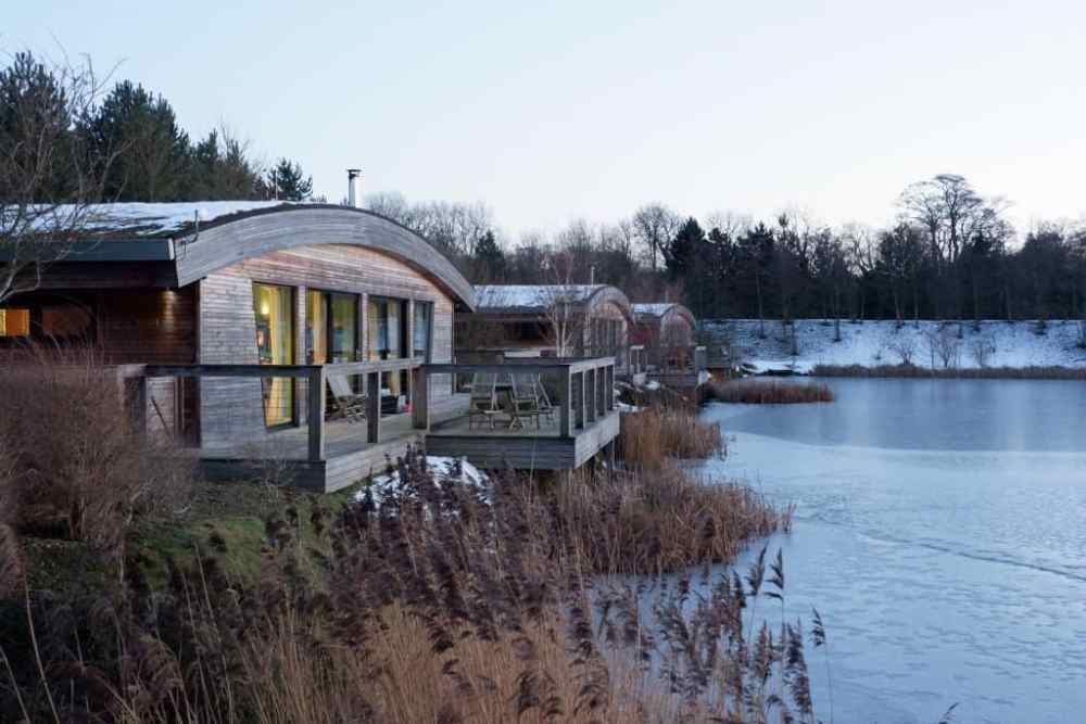 Log cabins with hot tubs in the UK
