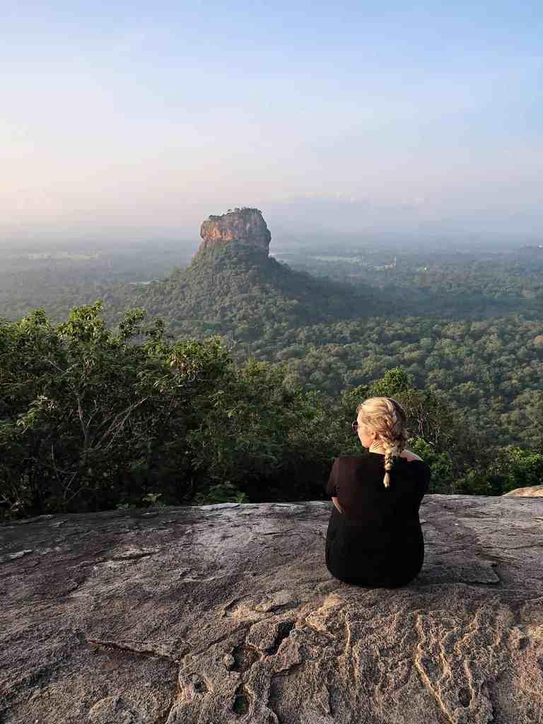 sigiriya rock Pidurangala Rock