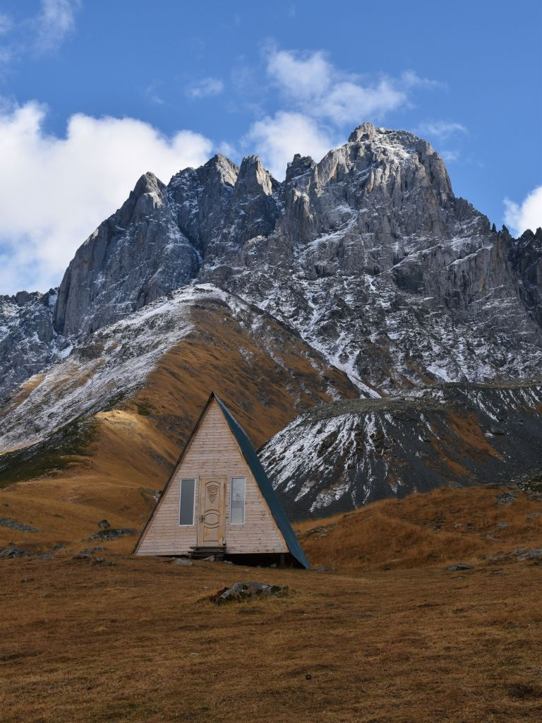 countries to visit after COVID georgia hut